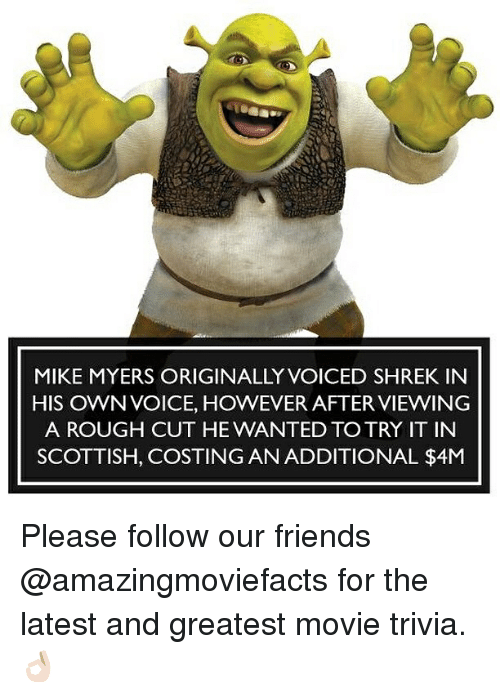 Mike Myers Originally Voiced Shrek In His Own Voice However After