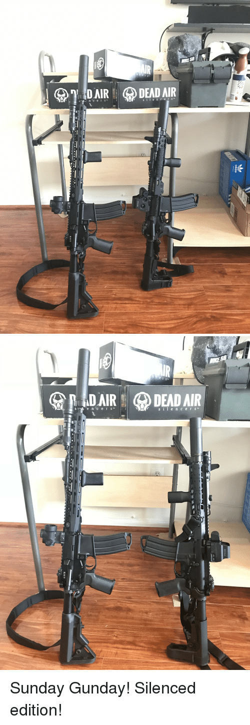 Big Brother, Sunday, and Brother: MIKE SB  DAIRDEADAR   s i lencerS Sunday Gunday! Silenced edition!