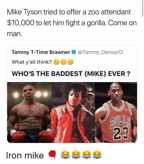 Mike Tyson Tried to Offer a Zoo Attendant $10000 to Let Him