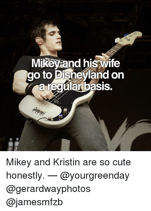 369feabb0 Cute, Disneyland, and Memes: Mikeyaand his wife go to Disneyland on a r  basis