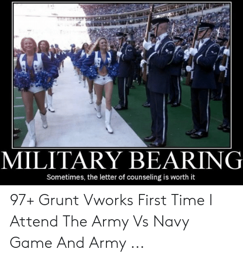 Military Bearing Sometimes The Letter Of Counseling Is Worth It 97