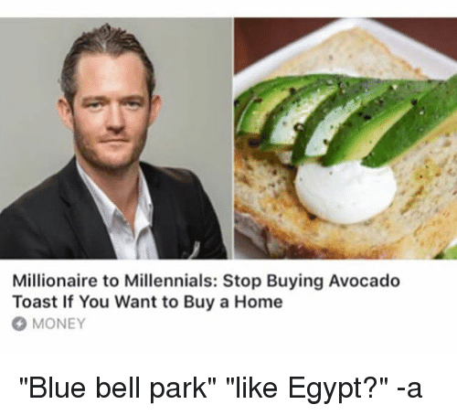 millionaire to millennials stop buying avocado toast if you want 23069264 millionaire to millennials stop buying avocado toast if you want to