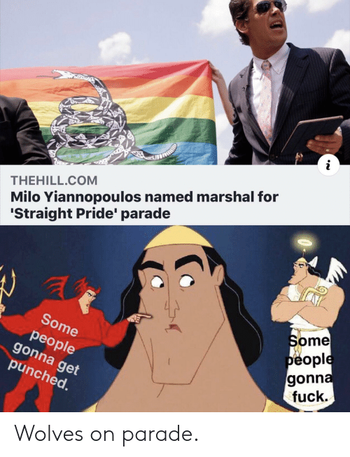 Milo Yiannopoulos Named Marshal For Straight Pride Parade
