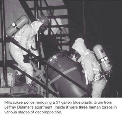 Memes And Human Milwaukee Police Removing A 57 Gallon Blue Plastic Drum