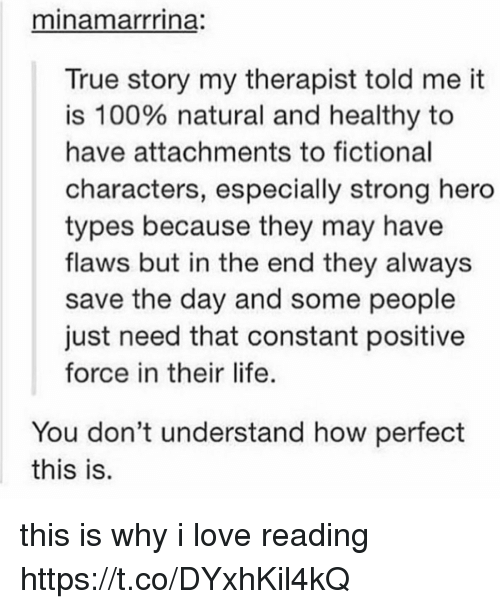 why do people love reading