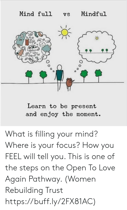 Mindful Or Mind Full Can You And Your >> Mind Full Vs Mindful Cor Learn To Be Present And Enjoy The Moment