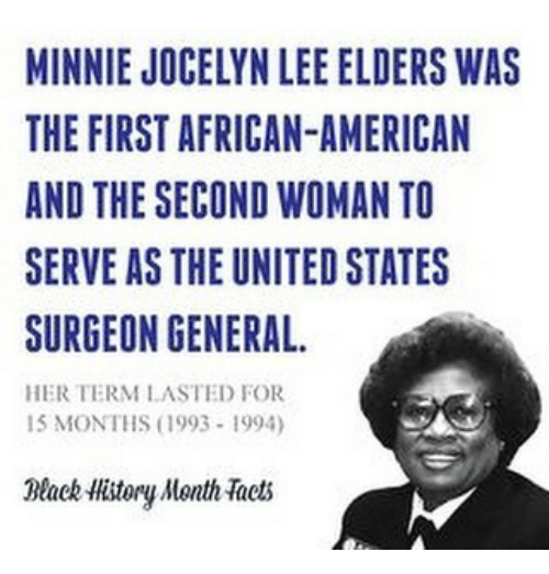 who was the first woman to serve in the cabinet minnie jocelyn elders was the american 29225