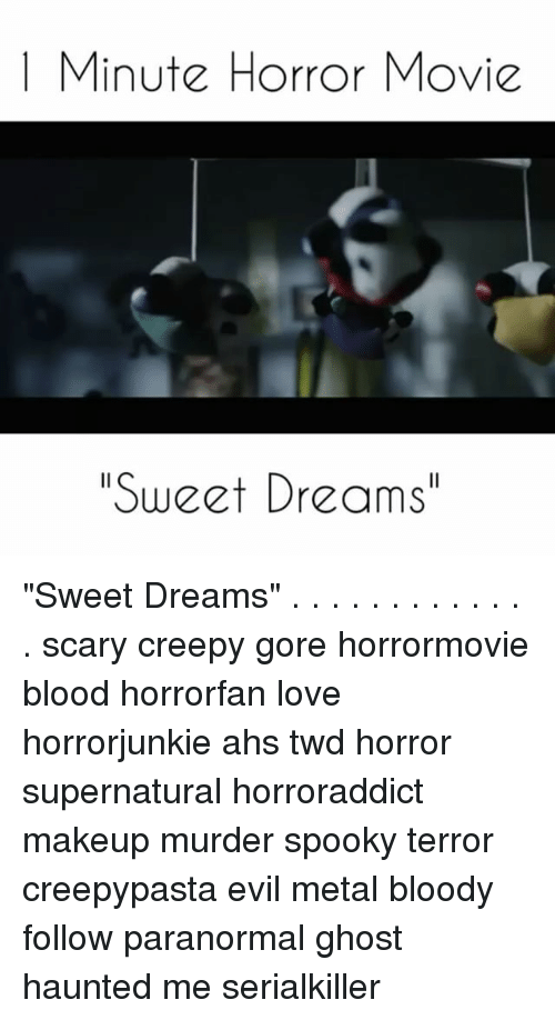 Consider, that Scary sweet dreams meme congratulate