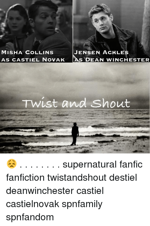MISHA COLLINS JENSEN ACK LES AS CASTIEL NOVAK AS DEAN WINCHESTER