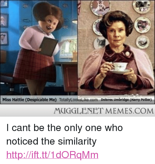 Miss HattieDespicable Me TotallyL Dolores Umbridge Harry Potter