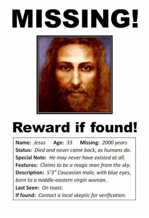 Reward for missing virginity