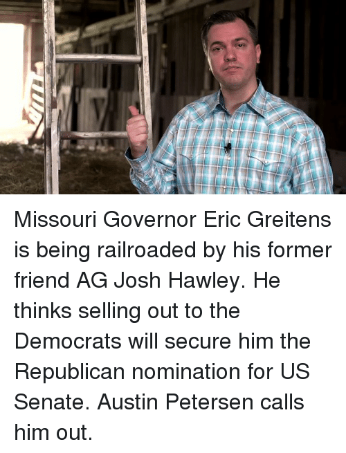 Image result for JOSH HAWLEY AG MEME
