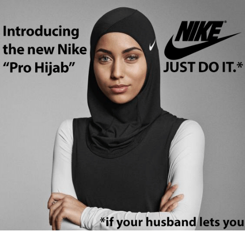 MM Introducing the New Nike Pro Hijab JUST DO IT if Your ...