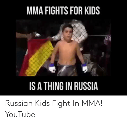 MMA FIGHTS FOR KIDS IS a THING IN RUSSIA Russian Kids Fight