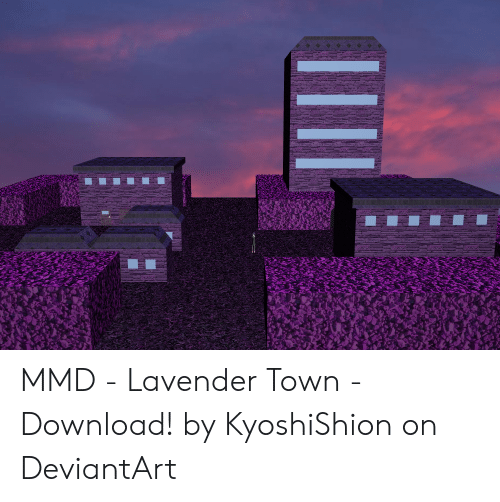 MMD - Lavender Town - Download! By KyoshiShion on DeviantArt