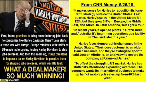 MO From CNN Money 62618 It Makes Sense for Harley to