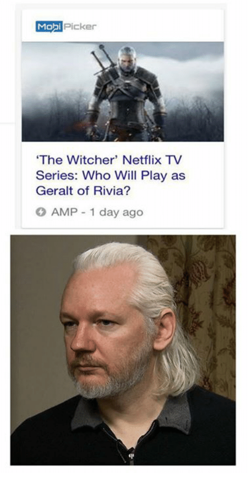Mo Picker The Witcher Netflix Tv Series Who Will Play As