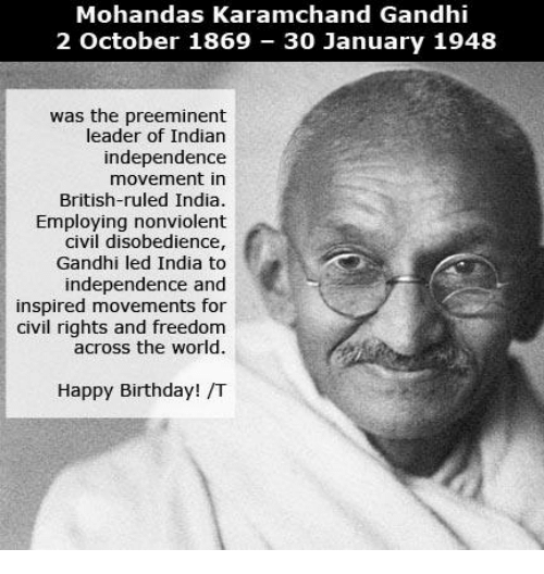 the influence of mohandas gandhi on non violent movements Get an answer for 'what are the causes and effects of gandhi's independence movement in indiawhat are the this had violent gandhi's non violence.