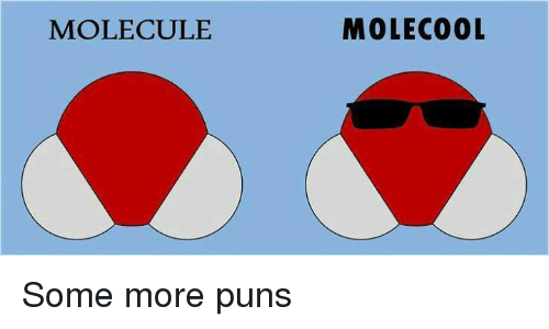 Memes, Puns, and Some More: MOLECULE  MOLECO0L Some more puns
