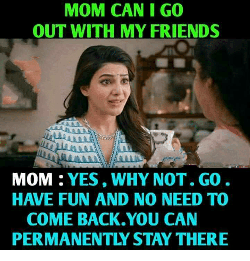 Agree with Me and my friends mom pity