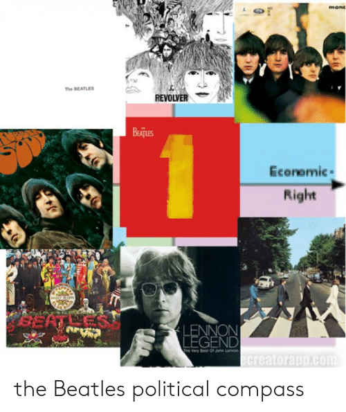 Mon the BEATLES REVOLVER BeATuES Econemic Right GEND the