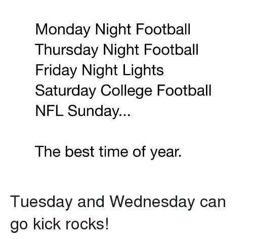sunday college football wednesday night college football