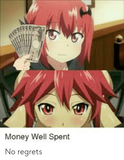 anime money