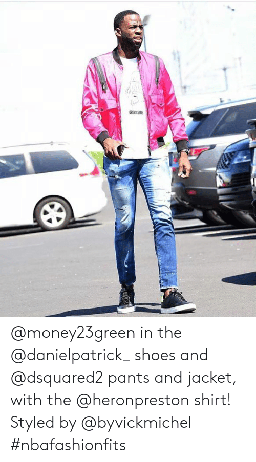 4f6f56a13 Shoes, Dsquared2, and Shirt: @money23green in the @danielpatrick_ shoes and  @