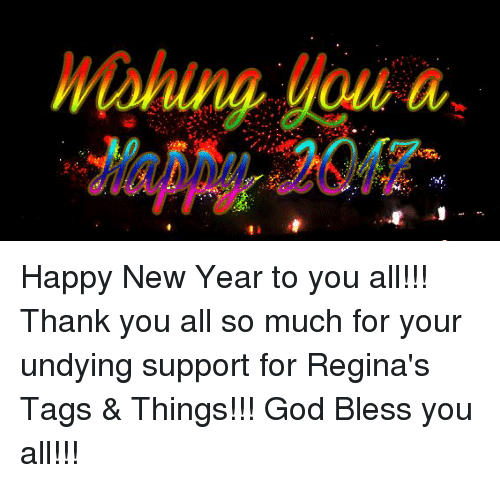 memes and regina moning a happy new year to you all