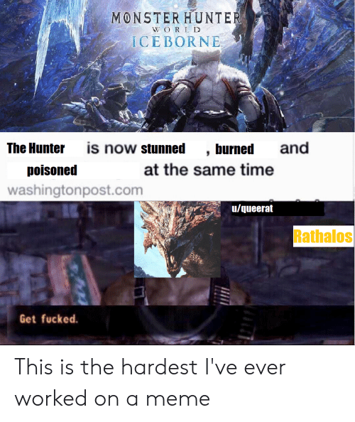 monster hunter world iceborne memes