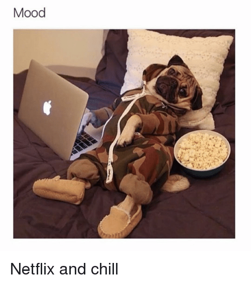 Memes, Netflix and Chill, and _______ and Chill: Mood Netflix and chill