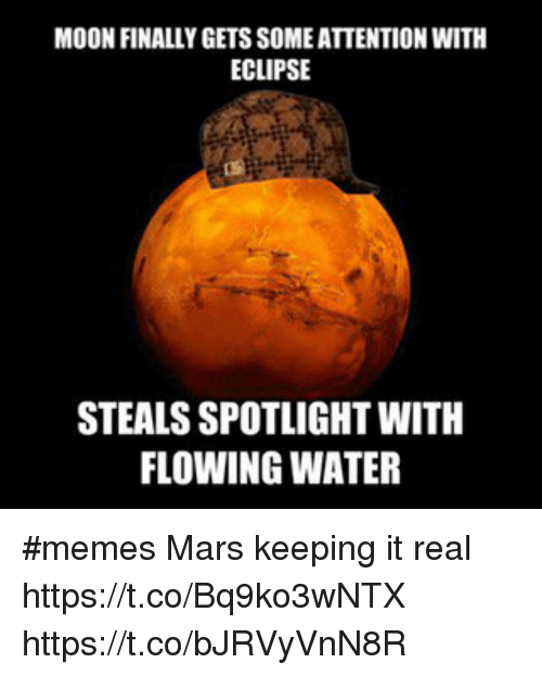 moonfinallygets someattention with eclipse steals spotlight with flowing water memes 18782263 moonfinallygets someattention with eclipse steals spotlight with