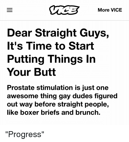 Dudes doing it the butthole way