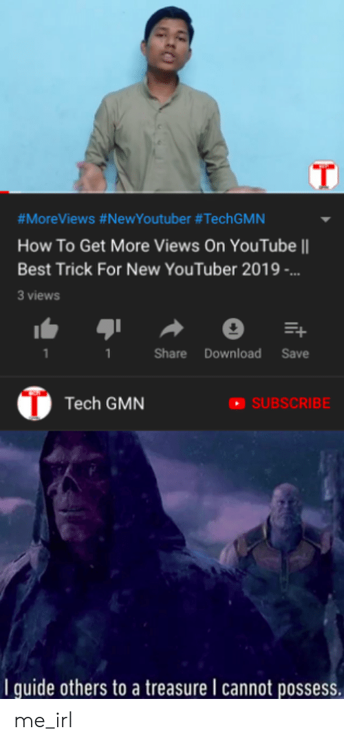 MoreViews #NewYoutuber #TechGMN How to Get More Views on
