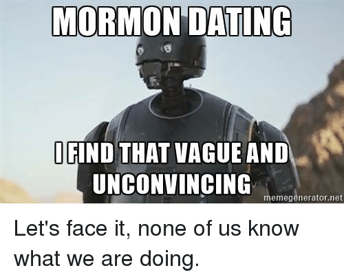 mormons and dating