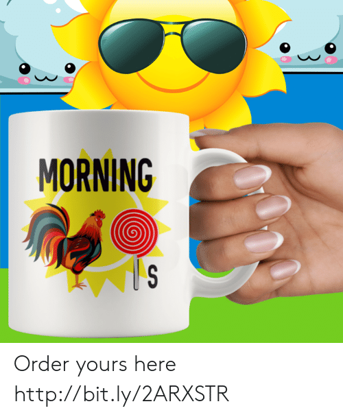 Memes, Http, and 🤖: MORNING Order yours here http://bit.ly/2ARXSTR