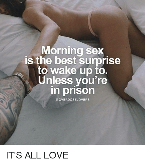Wake up to sex