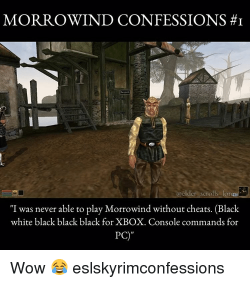 MORROWIND CONFESSIONS HI Elder Scrolls Lore I Was Never Able to Play