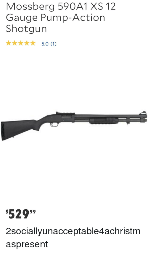 Mossberg 590A1 XS 12 Gauge Pump-Action Shotgun 529 | Shotgun