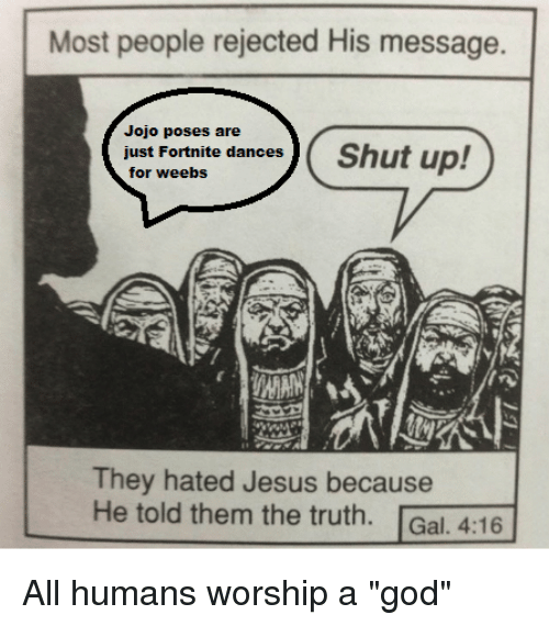 Most People Rejected His Message Jojo Poses Are Just Fortnite Dances