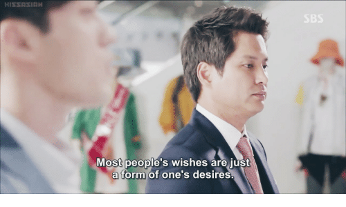 Just, Wishes, and Are: Most people's wishes are just  a form of one's desires