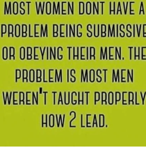 most submissive women