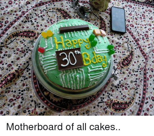 Funny, Motherboard, and All: Motherboard of all cakes..