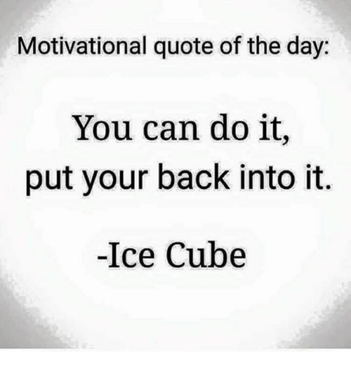 How Do You Put Quotes On Pictures: Motivational Quote Of The Day You Can Do It Put Your Back