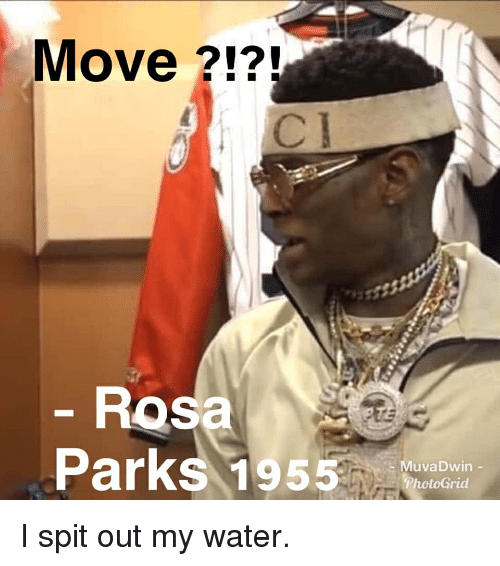 Move ?!? 217 Rosa Parks 15a MuvaDwin I Spit Out My Water