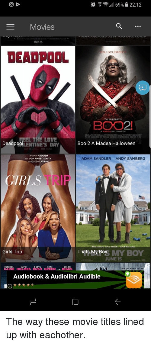 adam sandler boo and funny movies may 25 deadpool tyler perrys a madea