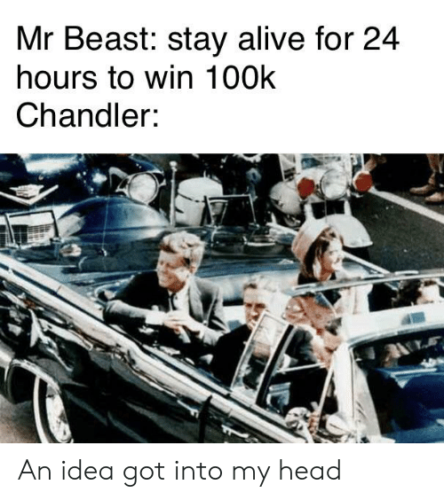 Mr Beast Stay Alive for 24 Hours to Win 100k Chandler an