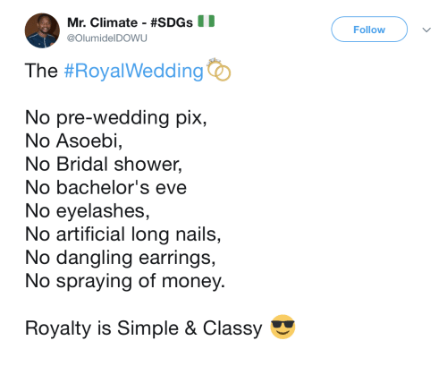 money shower and nails mr climate sdgs olumideldowu follow