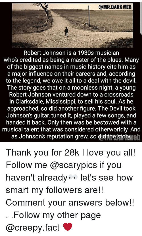 Robert Johnson Is a 1930s Musician Who's Credited as Being a Master