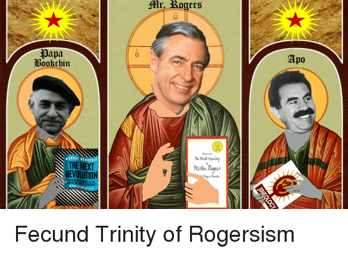 Revolution, Democracy, and Murray Bookchin: Mr. Kogers  Apo  Papa  Bookchin  Now York  TiNC  bestseller  MURRAY BOOKCHIN  THE NEXT  REVOLUTION  The Wolo tecorng  Mister Rogers  to  t Thinas to Rememler  POPULAR ASSEMBLIES &THE  ROMISE OF DIRECT DEMOCRACY  FOREWORD BY URSULA K. LE GUIN